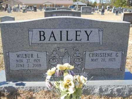 BAILEY, WILBUR L - Union County, Louisiana | WILBUR L BAILEY - Louisiana Gravestone Photos