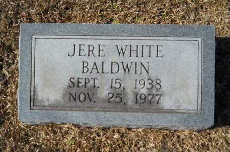 BALDWIN, JERE WHITE - Union County, Louisiana | JERE WHITE BALDWIN - Louisiana Gravestone Photos