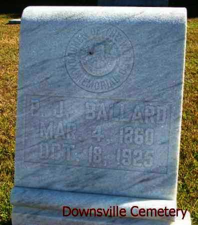 BALLARD, P J - Union County, Louisiana | P J BALLARD - Louisiana Gravestone Photos