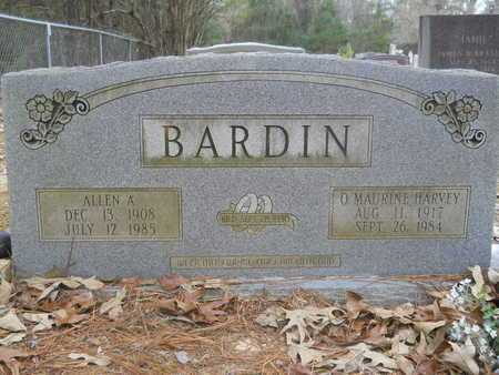 BARDIN, O MAURINE - Union County, Louisiana | O MAURINE BARDIN - Louisiana Gravestone Photos
