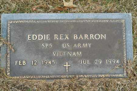 BARRON, EDDIE REX (VETERAN VIET) - Union County, Louisiana | EDDIE REX (VETERAN VIET) BARRON - Louisiana Gravestone Photos