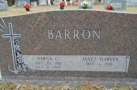 BARRON, VARNA C - Union County, Louisiana   VARNA C BARRON - Louisiana Gravestone Photos