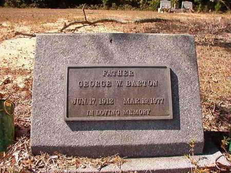 BARTON, GEORGE W - Union County, Louisiana | GEORGE W BARTON - Louisiana Gravestone Photos