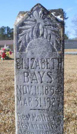 DENNY BAYS, ELIZABETH - Union County, Louisiana | ELIZABETH DENNY BAYS - Louisiana Gravestone Photos
