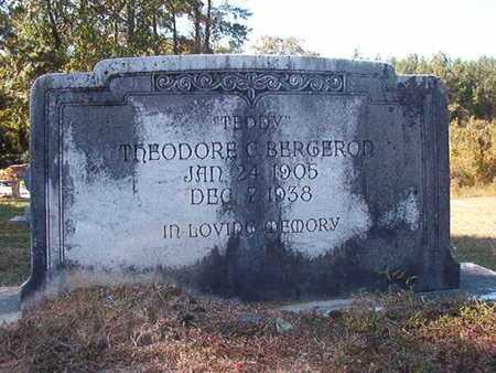 "BERGERON, THEODORE C ""TEDDY"" - Union County, Louisiana   THEODORE C ""TEDDY"" BERGERON - Louisiana Gravestone Photos"
