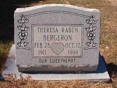 BERGERON, THERESA - Union County, Louisiana | THERESA BERGERON - Louisiana Gravestone Photos