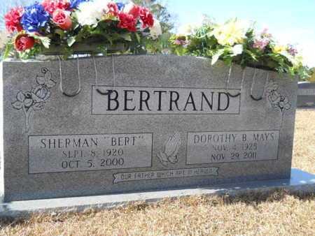 MAYS BERTRAND, DOROTHY B - Union County, Louisiana   DOROTHY B MAYS BERTRAND - Louisiana Gravestone Photos