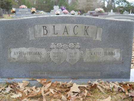 TUBBS BLACK, KATIE - Union County, Louisiana | KATIE TUBBS BLACK - Louisiana Gravestone Photos