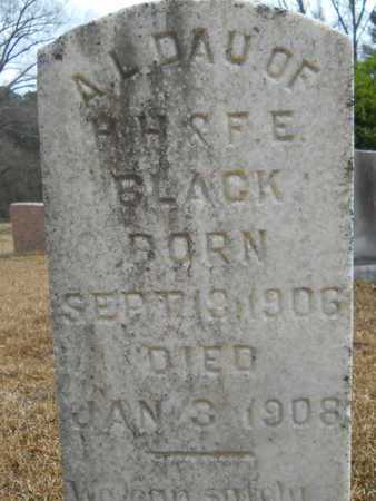 BLACK, A L - Union County, Louisiana | A L BLACK - Louisiana Gravestone Photos
