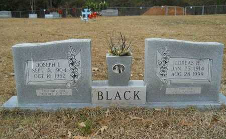HARVEY BLACK, LOREAS - Union County, Louisiana | LOREAS HARVEY BLACK - Louisiana Gravestone Photos
