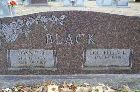 BLACK, LOU ELLEN - Union County, Louisiana | LOU ELLEN BLACK - Louisiana Gravestone Photos
