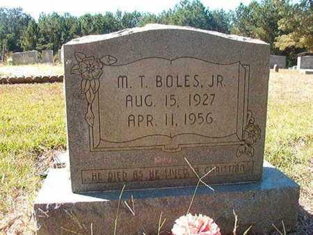 BOLES, M T, JR - Union County, Louisiana   M T, JR BOLES - Louisiana Gravestone Photos
