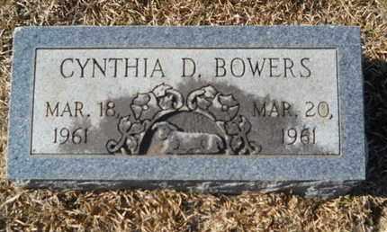 BOWERS, CYNTHIA D - Union County, Louisiana | CYNTHIA D BOWERS - Louisiana Gravestone Photos