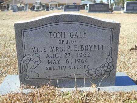 BOYETT, TONI GALE - Union County, Louisiana | TONI GALE BOYETT - Louisiana Gravestone Photos