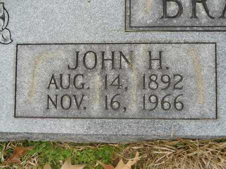BRANTLEY, JOHN H (CLOSE UP) - Union County, Louisiana   JOHN H (CLOSE UP) BRANTLEY - Louisiana Gravestone Photos