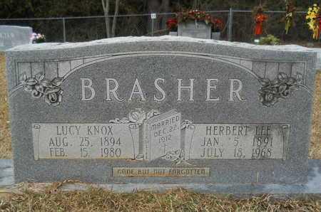 BRASHER, LUCY - Union County, Louisiana | LUCY BRASHER - Louisiana Gravestone Photos