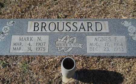 BROUSSARD, MARK N - Union County, Louisiana | MARK N BROUSSARD - Louisiana Gravestone Photos