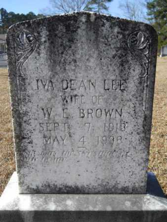 BROWN, IVA DEAN - Union County, Louisiana | IVA DEAN BROWN - Louisiana Gravestone Photos