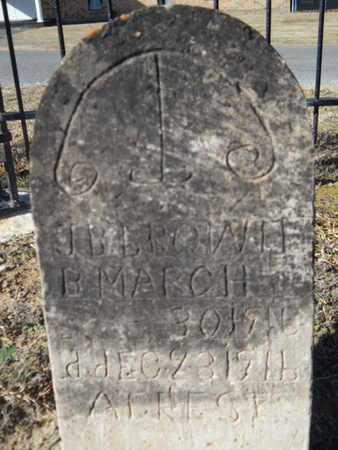 BROWN, J B - Union County, Louisiana | J B BROWN - Louisiana Gravestone Photos