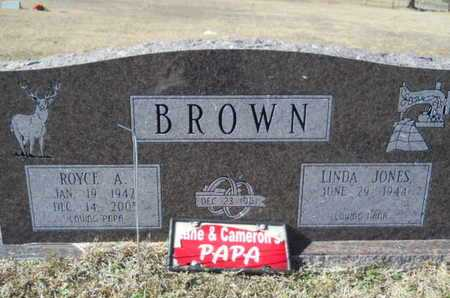 BROWN, ROYCE A - Union County, Louisiana | ROYCE A BROWN - Louisiana Gravestone Photos