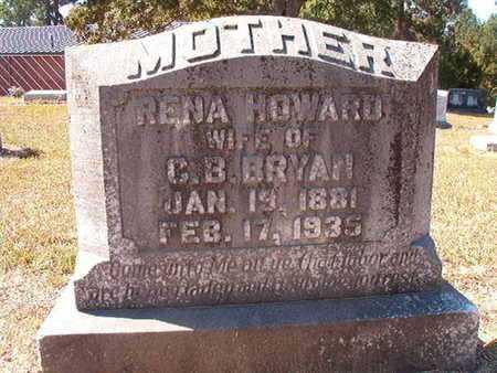 HOWARD BRYAN, RENA - Union County, Louisiana   RENA HOWARD BRYAN - Louisiana Gravestone Photos