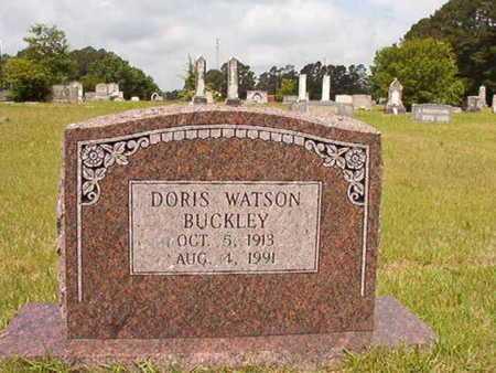 WATSON BUCKLEY, DORIS - Union County, Louisiana   DORIS WATSON BUCKLEY - Louisiana Gravestone Photos