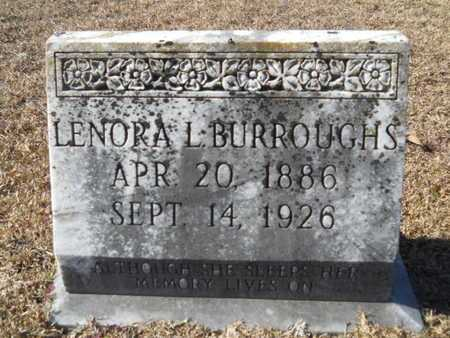 BURROUGHS, LENORA L - Union County, Louisiana | LENORA L BURROUGHS - Louisiana Gravestone Photos