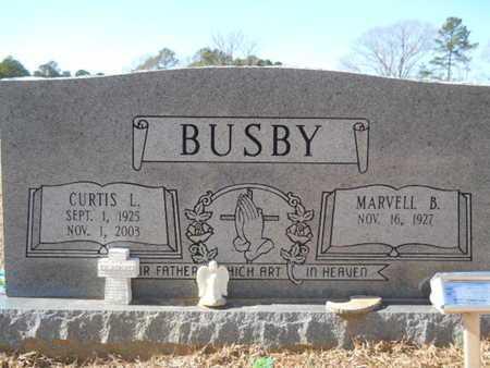 BUSBY, CURTIS L - Union County, Louisiana   CURTIS L BUSBY - Louisiana Gravestone Photos