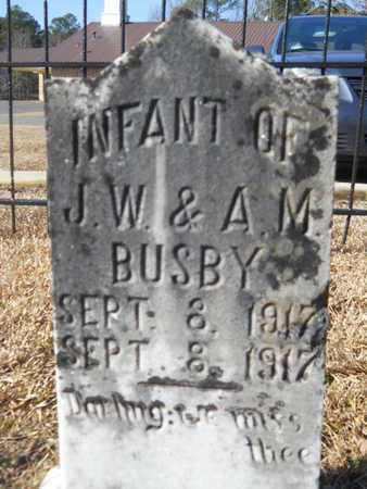 BUSBY, INFANT - Union County, Louisiana   INFANT BUSBY - Louisiana Gravestone Photos