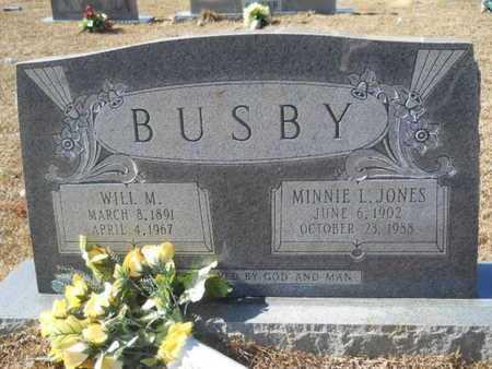 BUSBY, MINNIE L - Union County, Louisiana   MINNIE L BUSBY - Louisiana Gravestone Photos
