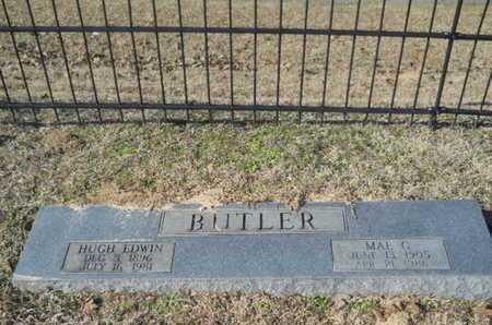 BUTLER, HUGH EDWIN - Union County, Louisiana | HUGH EDWIN BUTLER - Louisiana Gravestone Photos