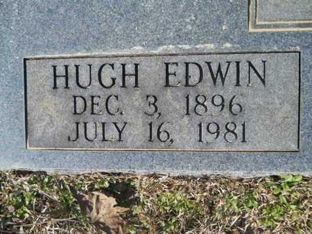 BUTLER, HUGH EDWIN (CLOSE UP) - Union County, Louisiana   HUGH EDWIN (CLOSE UP) BUTLER - Louisiana Gravestone Photos