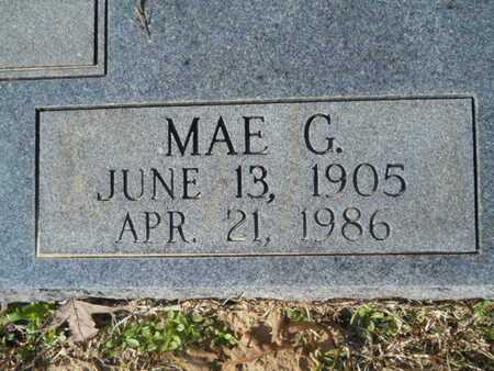 BUTLER, MAE G (CLOSE UP) - Union County, Louisiana | MAE G (CLOSE UP) BUTLER - Louisiana Gravestone Photos