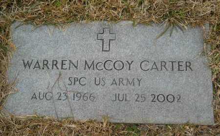 CARTER, WARREN MCCOY (VETERAN) - Union County, Louisiana | WARREN MCCOY (VETERAN) CARTER - Louisiana Gravestone Photos