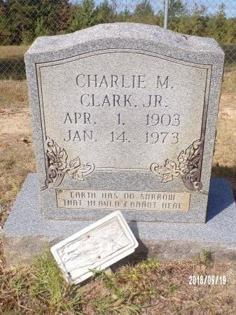 CLARK, CHARLIE M., JR - Union County, Louisiana | CHARLIE M., JR CLARK - Louisiana Gravestone Photos