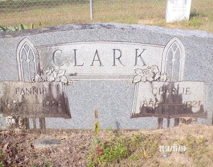 CLARK, FANNIE - Union County, Louisiana | FANNIE CLARK - Louisiana Gravestone Photos