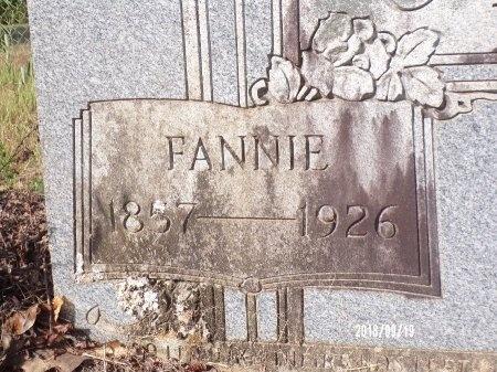 CLARK, FANNIE (CLOSE UP) - Union County, Louisiana   FANNIE (CLOSE UP) CLARK - Louisiana Gravestone Photos