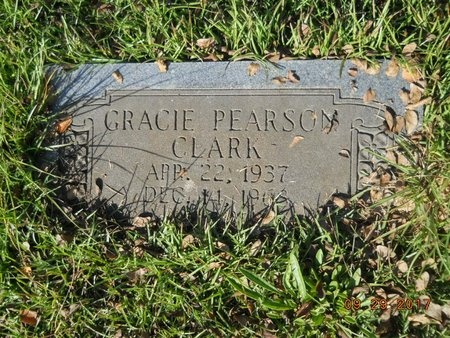 PEARSON CLARK, GRACIE - Union County, Louisiana | GRACIE PEARSON CLARK - Louisiana Gravestone Photos