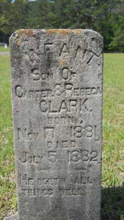 CLARK, INFANT SON - Union County, Louisiana   INFANT SON CLARK - Louisiana Gravestone Photos