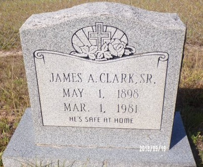 CLARK, JAMES A., SR - Union County, Louisiana | JAMES A., SR CLARK - Louisiana Gravestone Photos