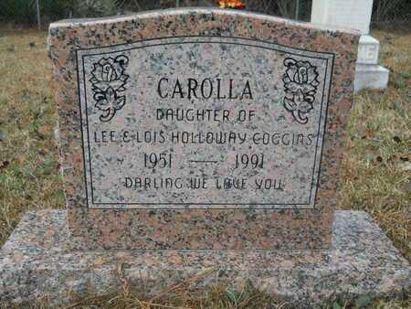 COGGINS, CAROLLA - Union County, Louisiana | CAROLLA COGGINS - Louisiana Gravestone Photos