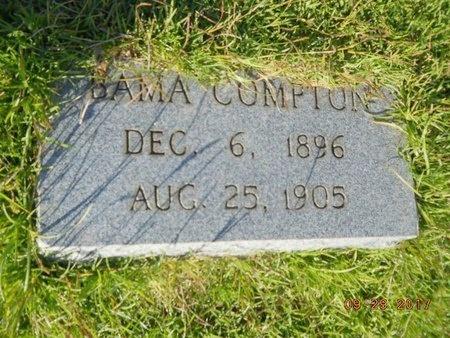 COMPTON, BAMA - Union County, Louisiana | BAMA COMPTON - Louisiana Gravestone Photos