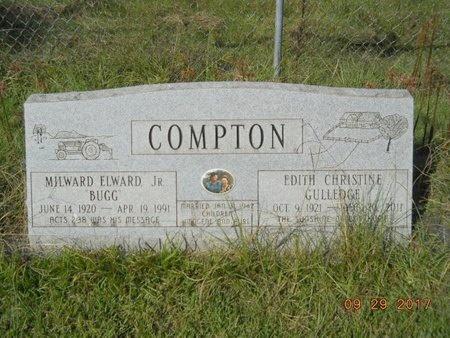 COMPTON, EDITH CHRISTINE - Union County, Louisiana | EDITH CHRISTINE COMPTON - Louisiana Gravestone Photos