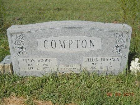 COMPTON, TYSON WOODIE - Union County, Louisiana | TYSON WOODIE COMPTON - Louisiana Gravestone Photos