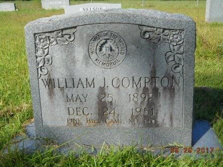 COMPTON, WILLIAM JAMES - Union County, Louisiana   WILLIAM JAMES COMPTON - Louisiana Gravestone Photos