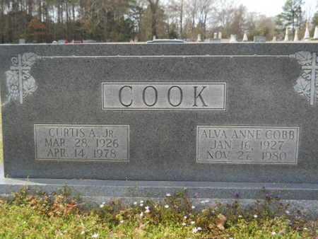 COOK, ALVA ANNE - Union County, Louisiana | ALVA ANNE COOK - Louisiana Gravestone Photos