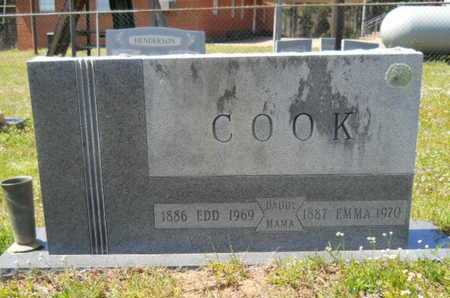 COOK, EDD - Union County, Louisiana | EDD COOK - Louisiana Gravestone Photos