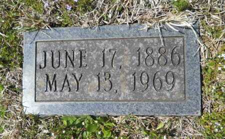 COOK, EDD (FOOTSTONE) - Union County, Louisiana | EDD (FOOTSTONE) COOK - Louisiana Gravestone Photos