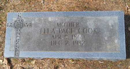COOK, ELLA - Union County, Louisiana | ELLA COOK - Louisiana Gravestone Photos