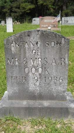 COOK, INFANT SON - Union County, Louisiana | INFANT SON COOK - Louisiana Gravestone Photos